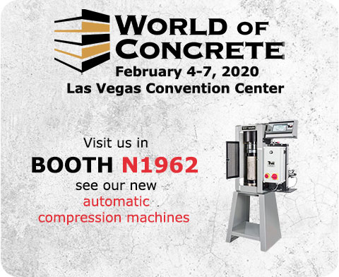 Visit us at World of Concrete
